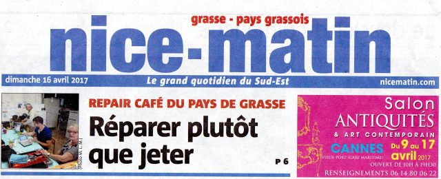 Une Nice-Matin 16 avril 2017