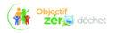 Logo quadri de l'opération objectif zéro déchet
