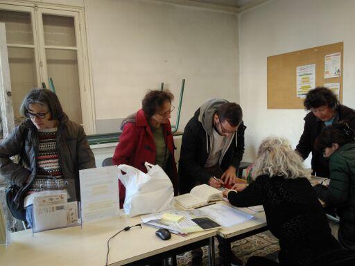 Accueil et prise en charge des visiteurs et de leurs objets au Repair Café pays de Grasse